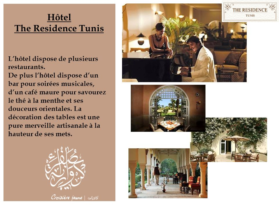 Hôtel The Residence Tunis