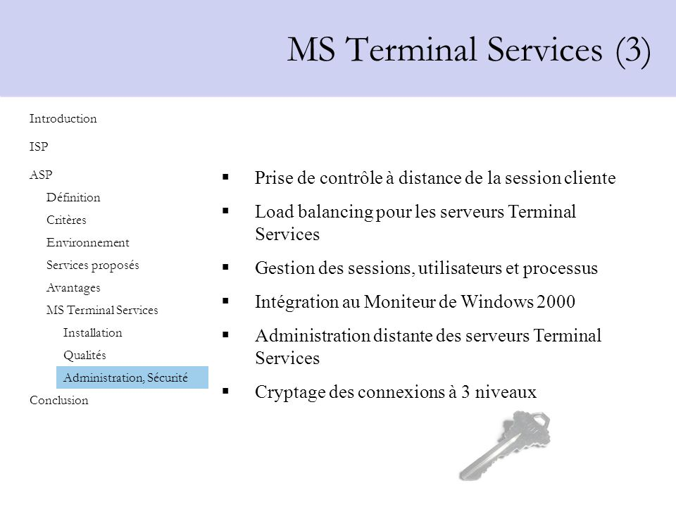 MS Terminal Services (3)