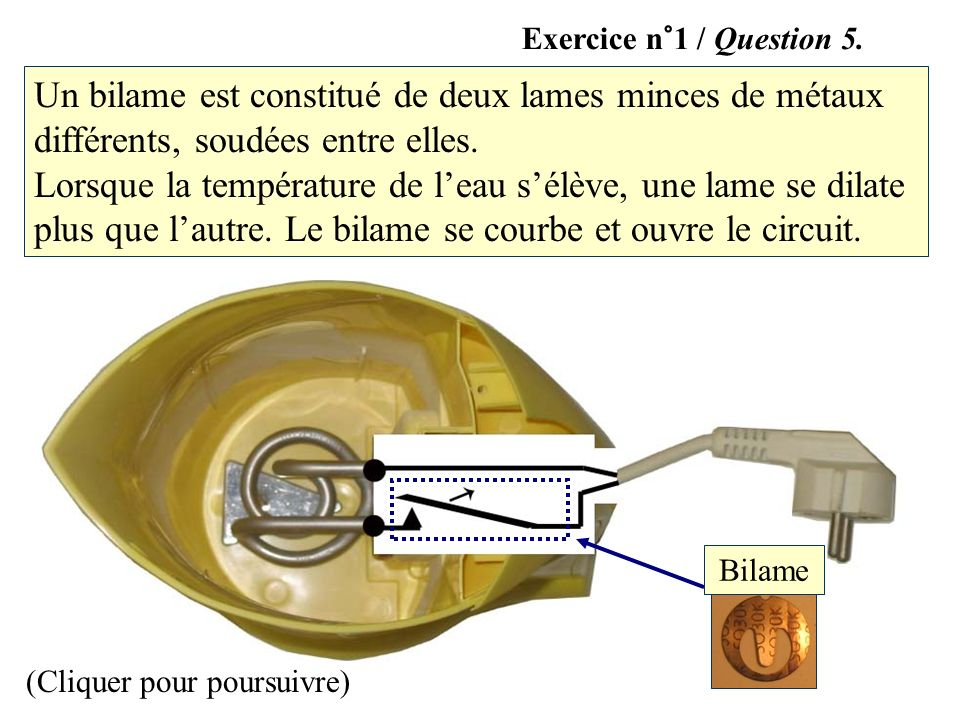 Exercice n°1 / Question 5.