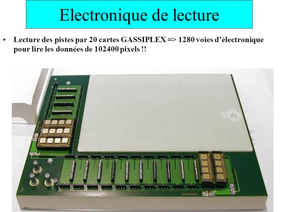Electronique de lecture