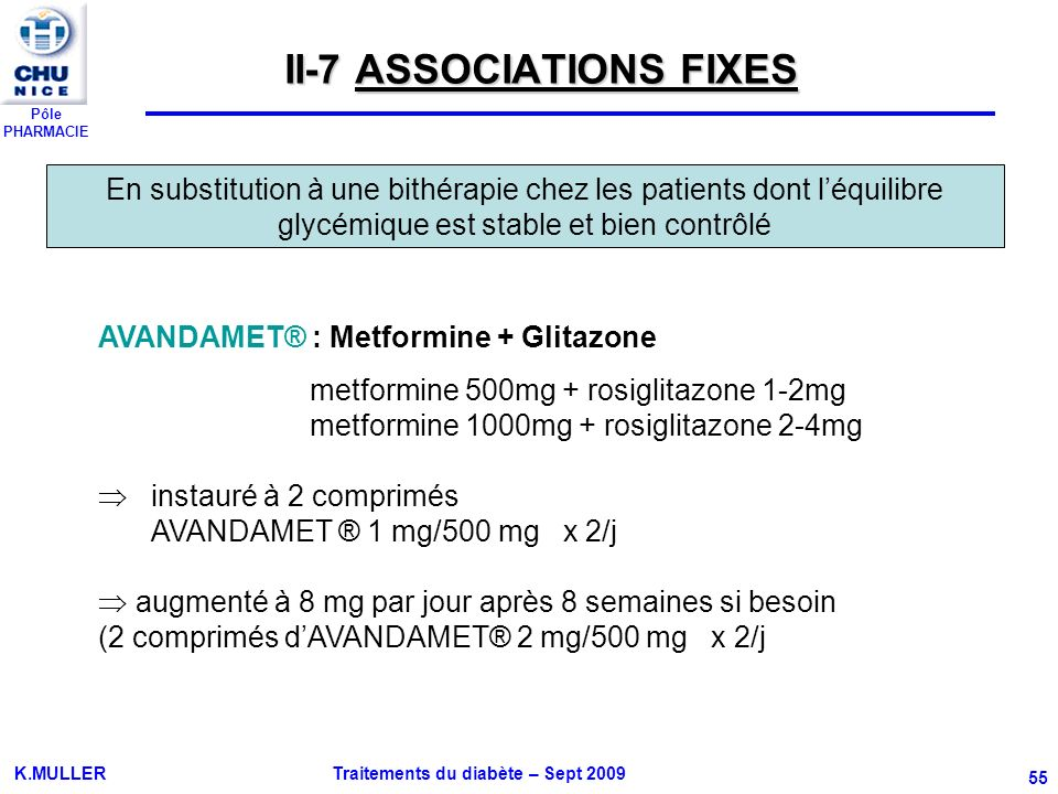 II-7 ASSOCIATIONS FIXES