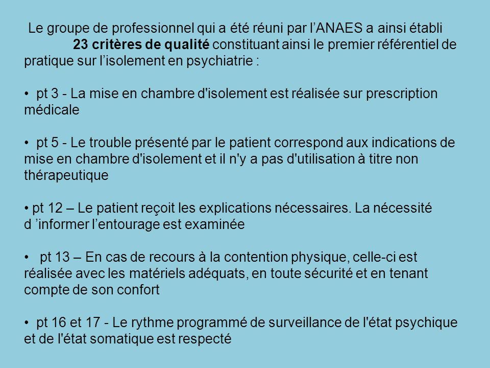 ASPECTS ETHIQUES ET THEUTIQUES DE L'ISOLEMENT EN PSYCHIATRIE ... on