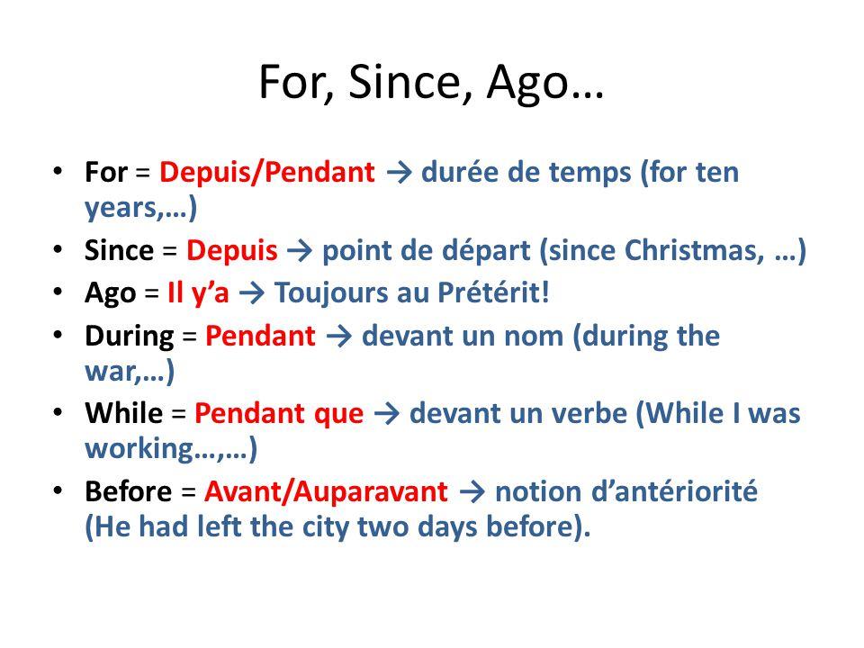 Les Temps du Passé. - ppt video online télécharger