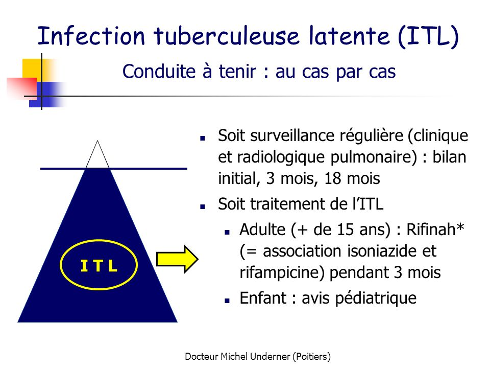 Infection tuberculeuse latente (ITL)