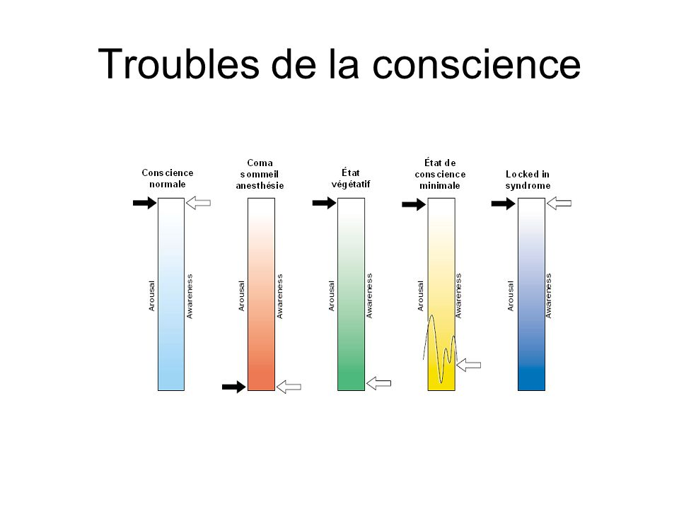 Troubles de la conscience