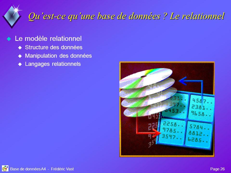 Uv Base De Donnees A4 Oracle Ppt Telecharger