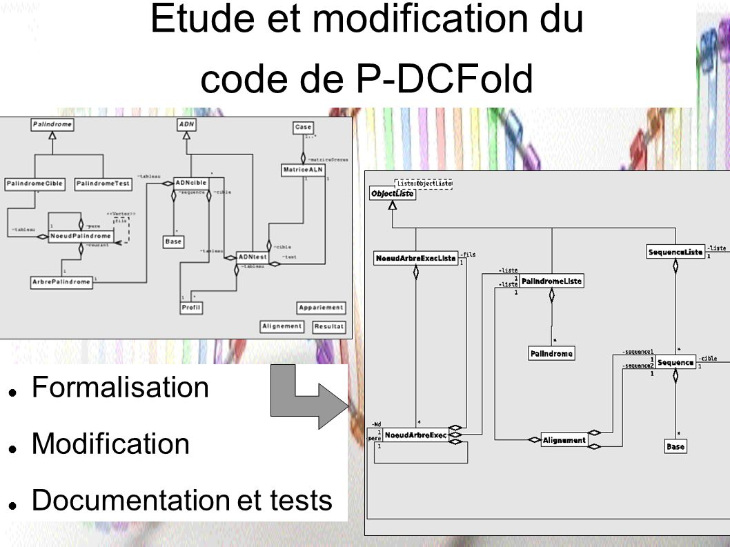 Etude et modification du code de P-DCFold