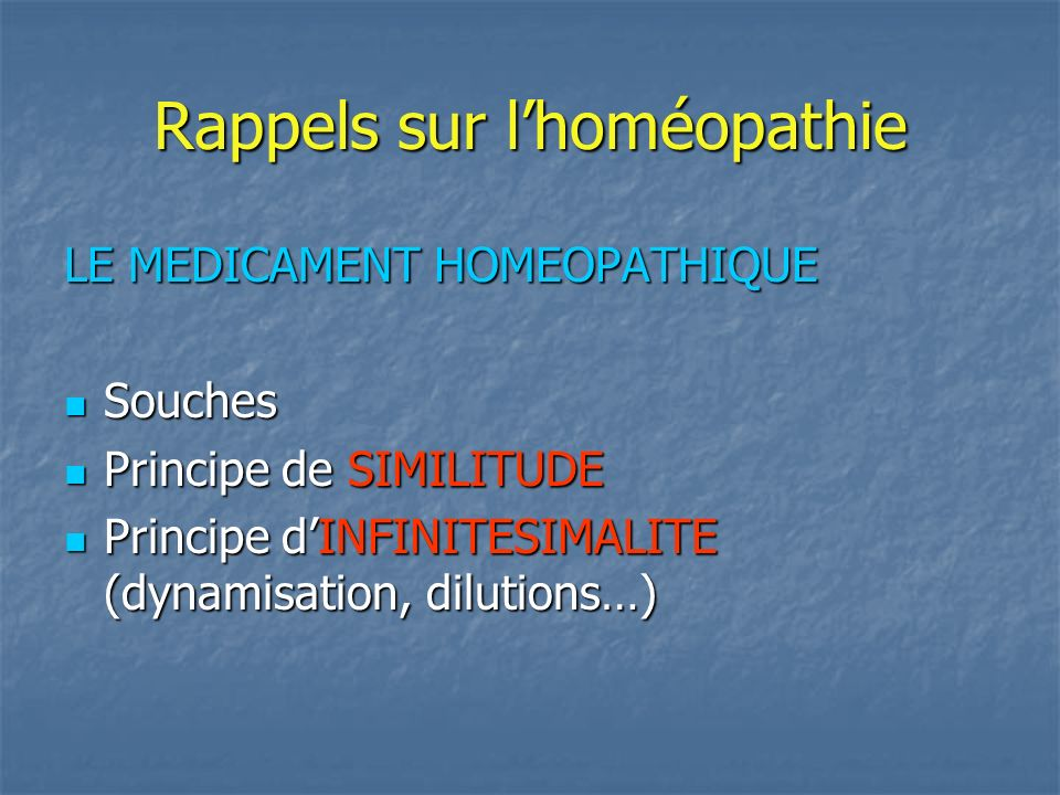 angoisse anticipation homéopathie