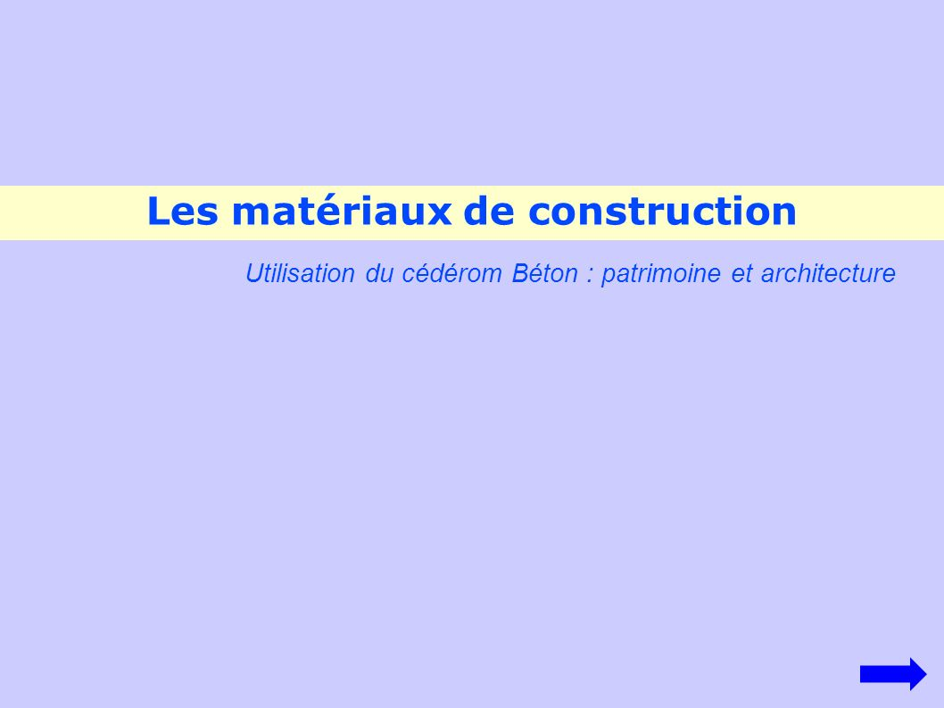 les mat riaux de construction ppt video online t l charger. Black Bedroom Furniture Sets. Home Design Ideas