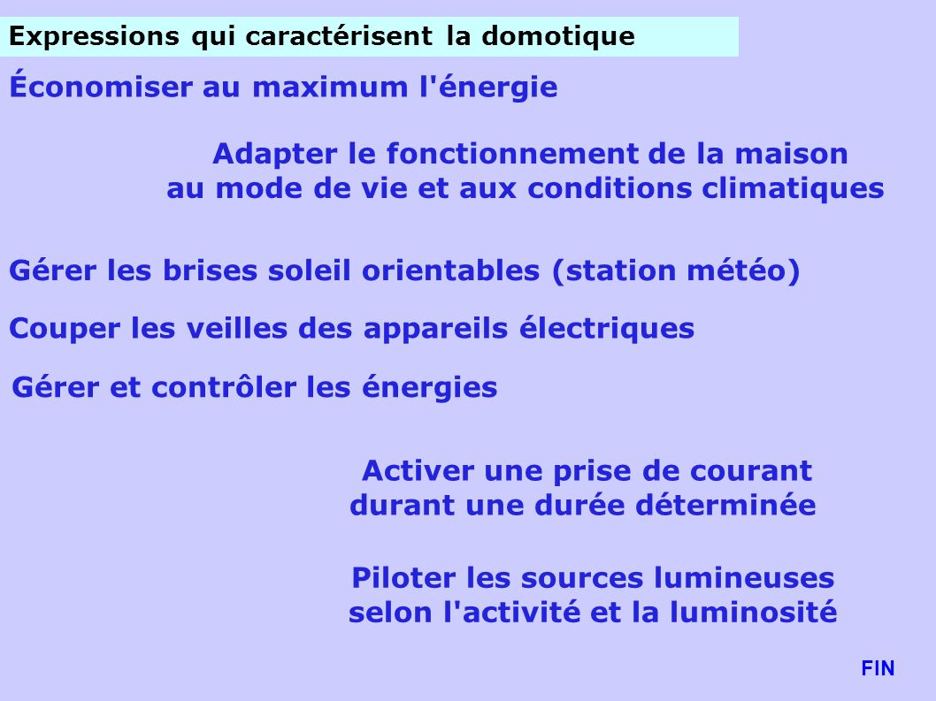 Économiser au maximum l énergie