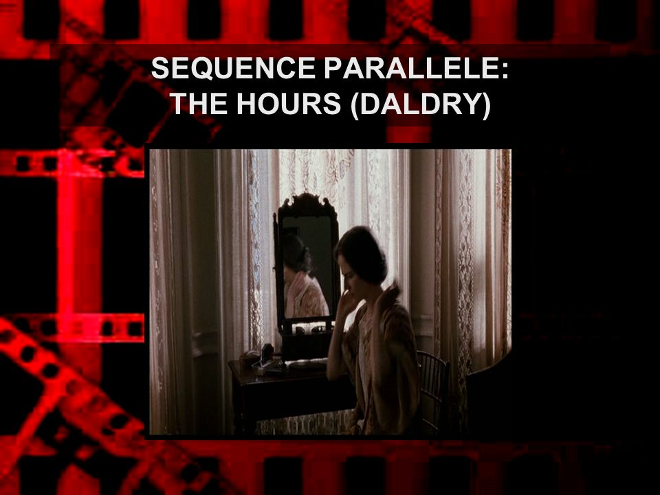 SEQUENCE PARALLELE: THE HOURS (DALDRY)