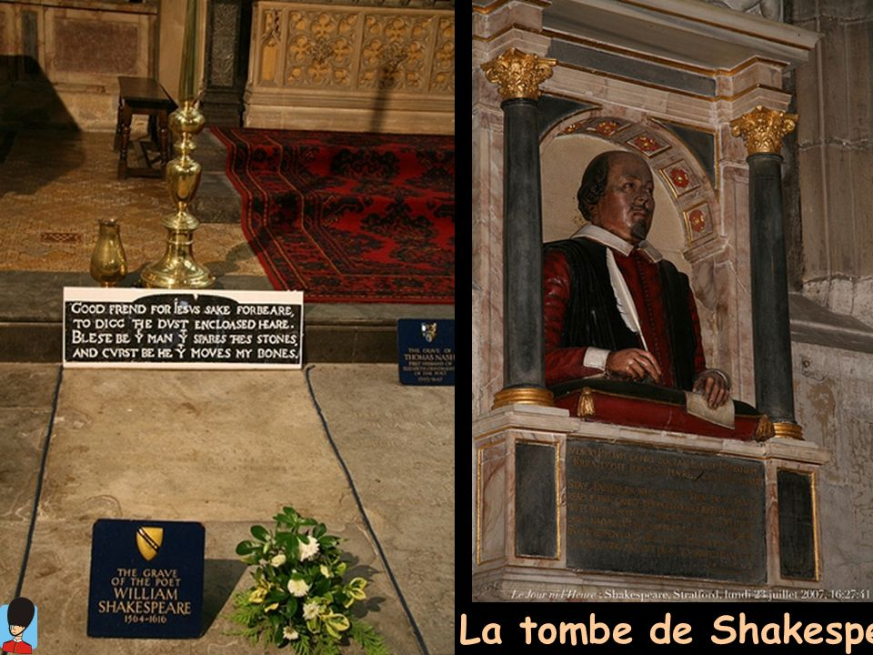La tombe de Shakespeare