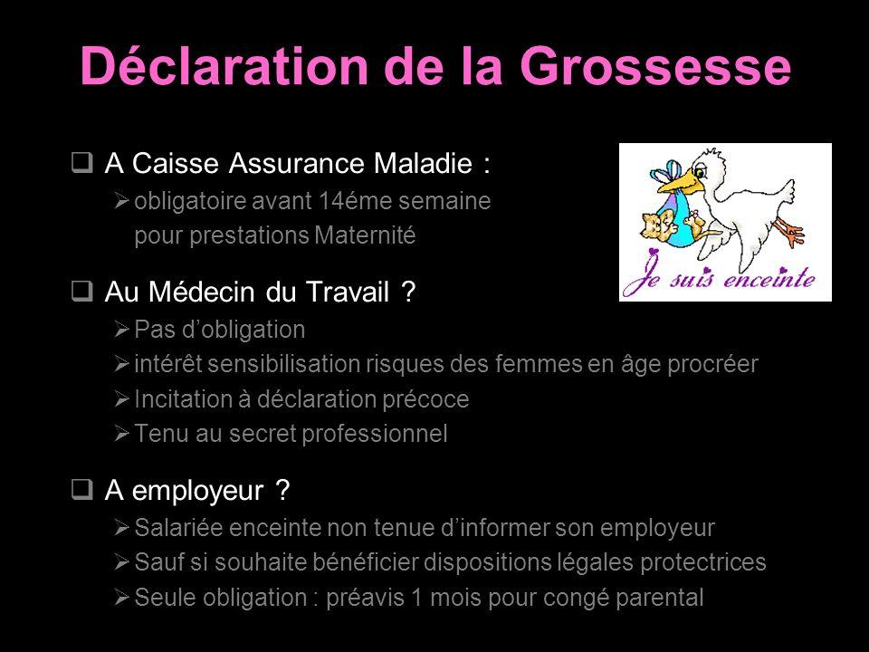 Reglementation Et Protection De La Femme Enceinte Ppt Video Online