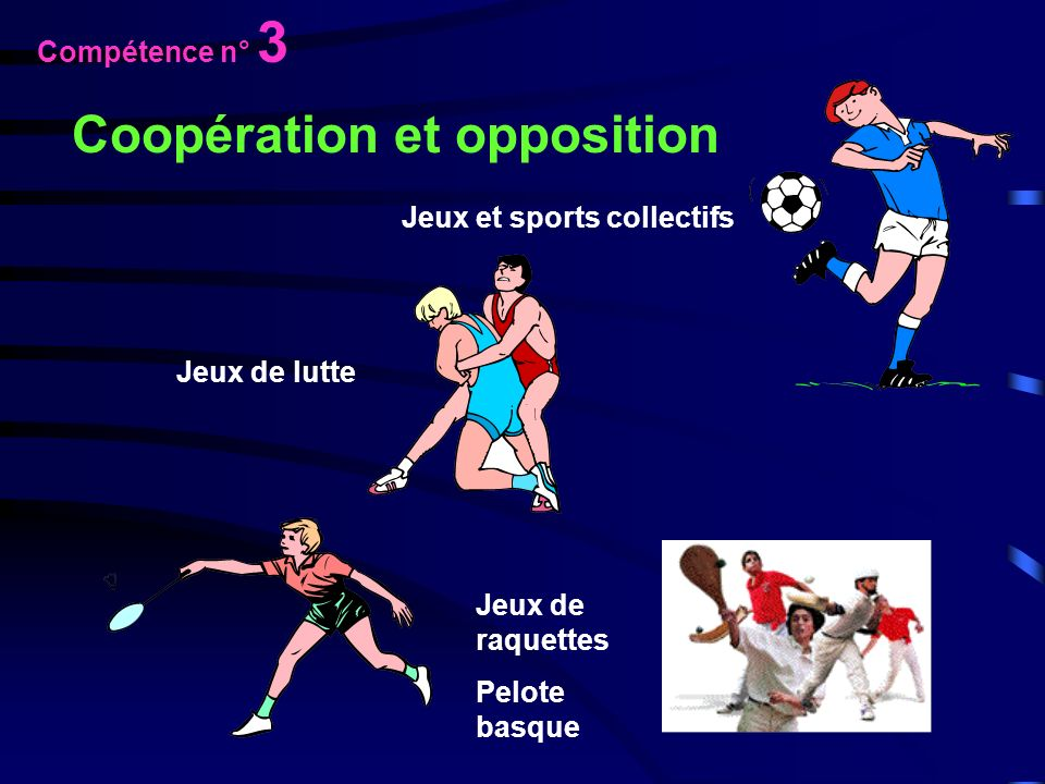 Coopération et opposition