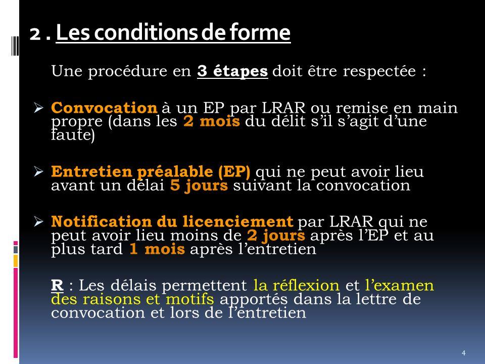 Chapitre 3 La Rupture Du Contrat De Travail Ppt Video Online
