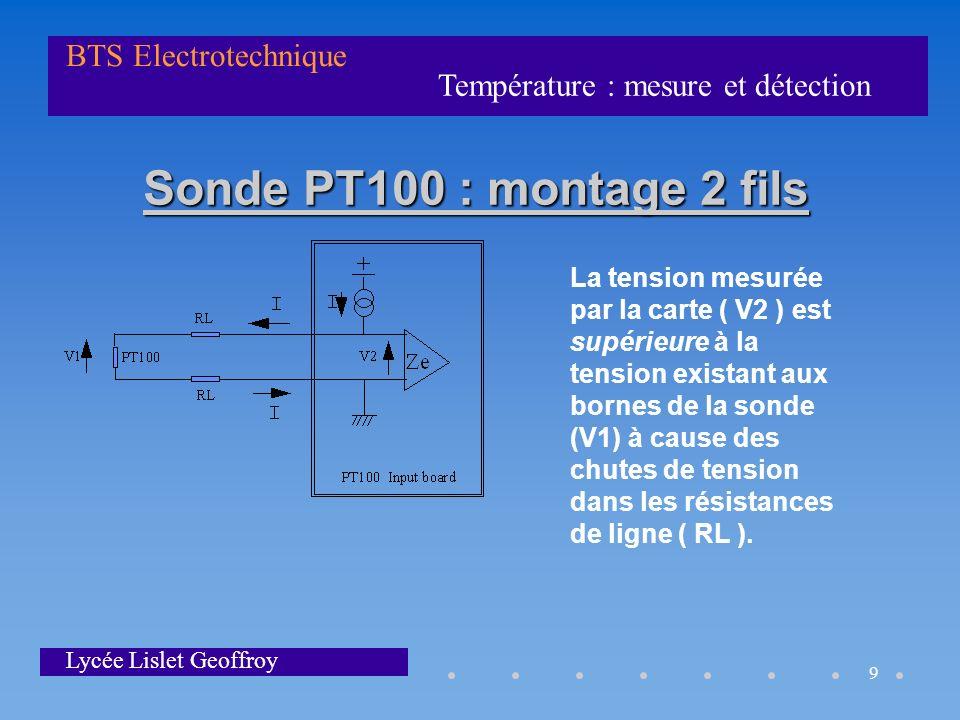la temperature mesure et detection ppt video online t l charger. Black Bedroom Furniture Sets. Home Design Ideas