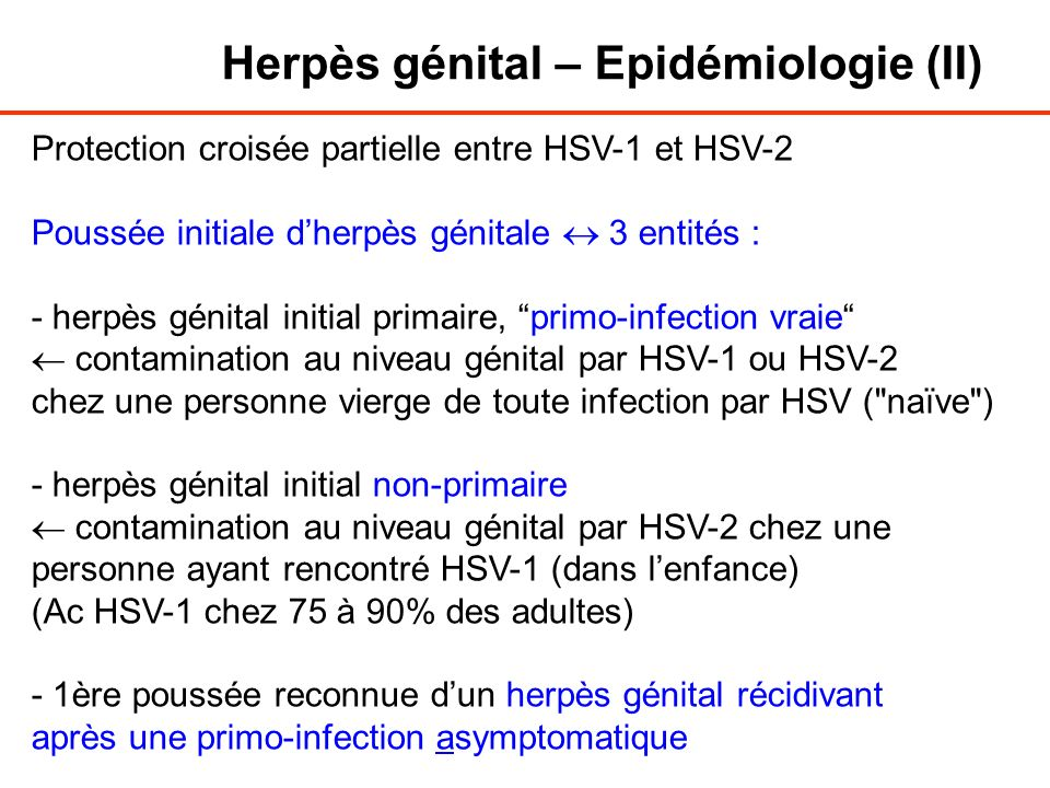 Rencontre herpes genital