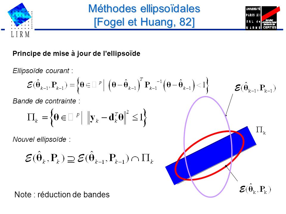 Méthodes ellipsoïdales