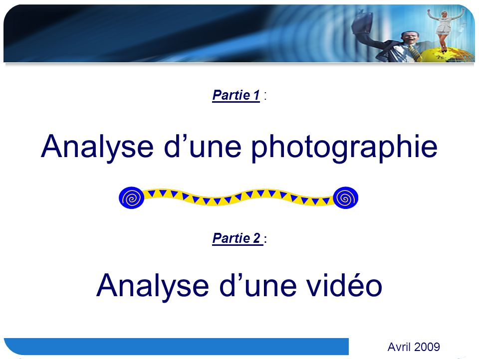 Analyse d'une photographie