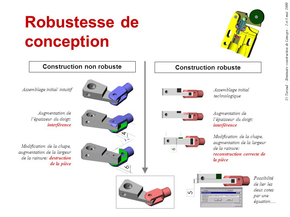 Robustesse de conception