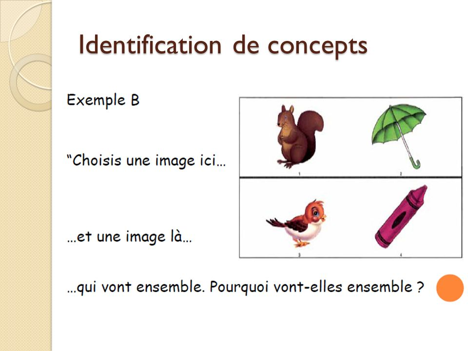 Identification de concepts