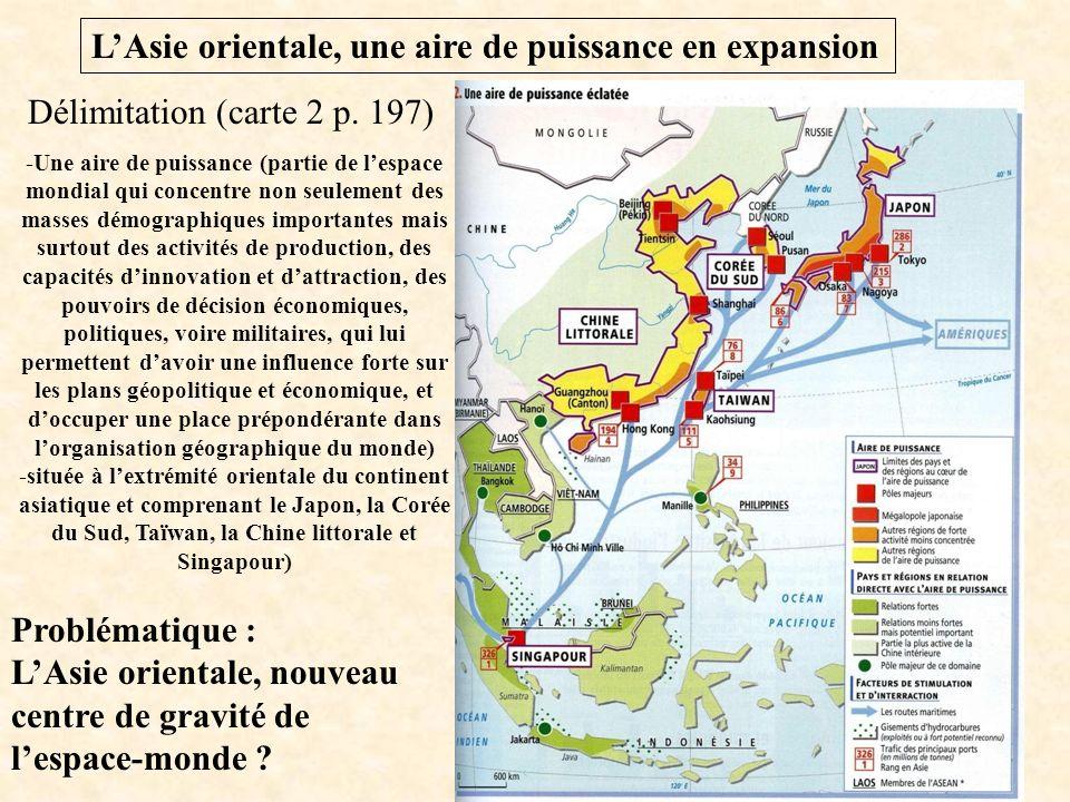 Carte Asie Orientale.L Asie Orientale Une Aire De Puissance En Expansion
