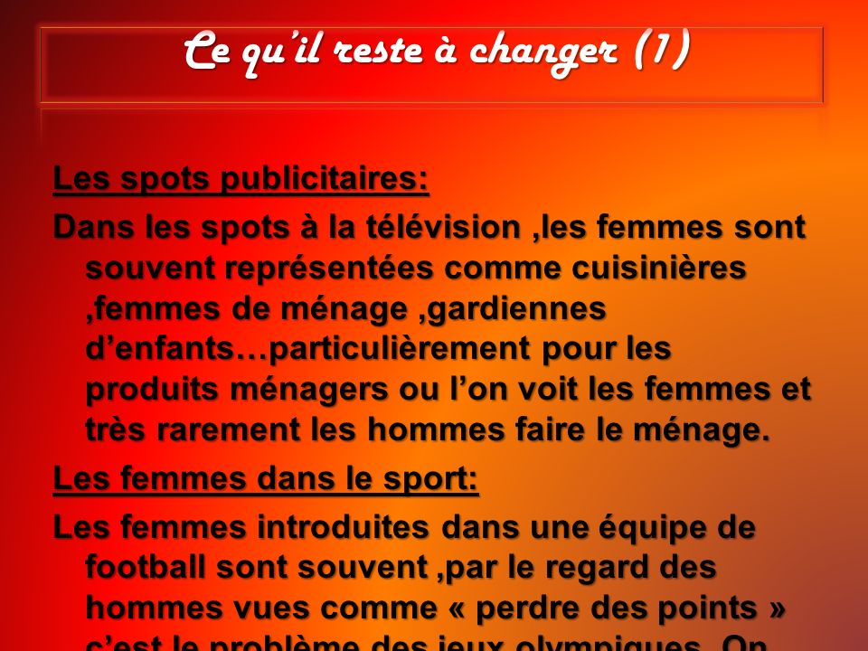 la discrimination des femmes en france ppt video online t l charger. Black Bedroom Furniture Sets. Home Design Ideas
