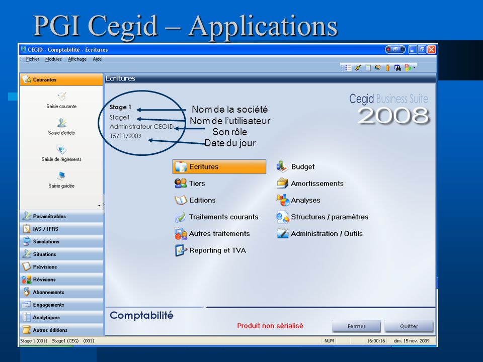 PGI Cegid – Applications