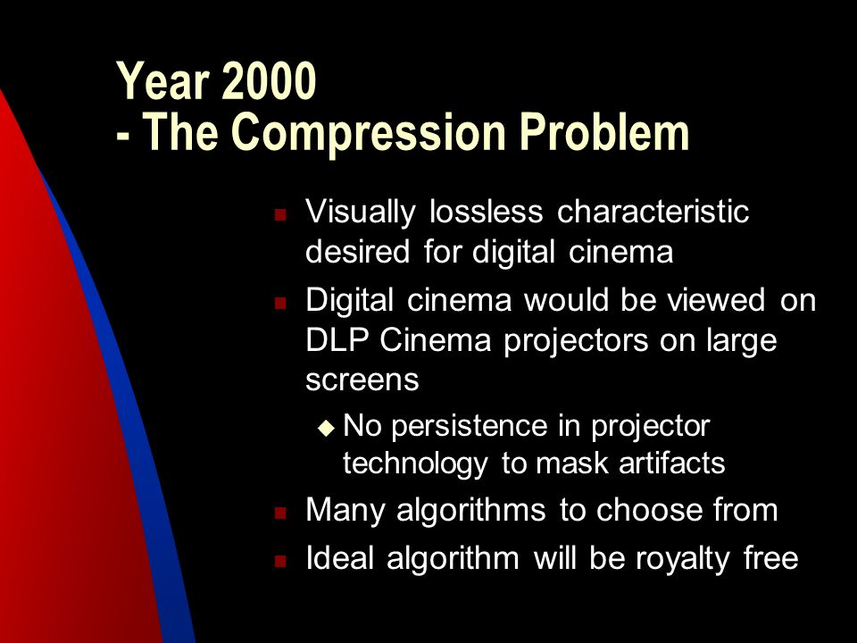 Year 2000 - The Compression Problem