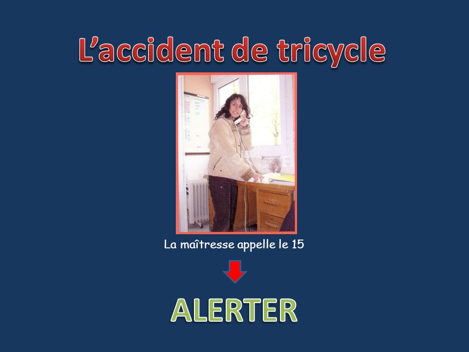 L'accident de tricycle