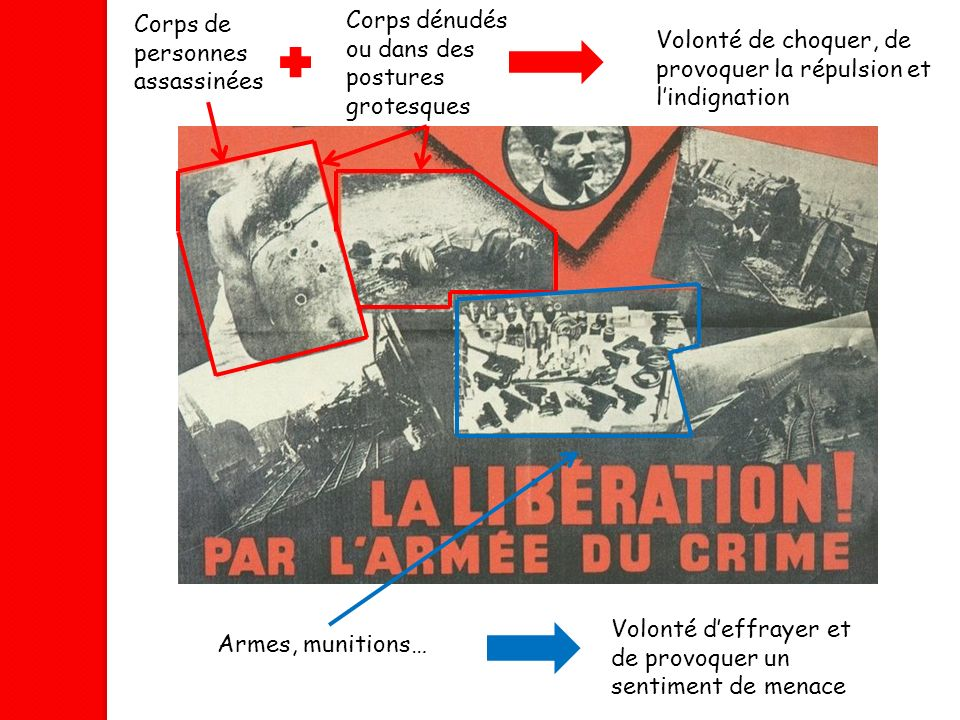 Corps de personnes assassinées