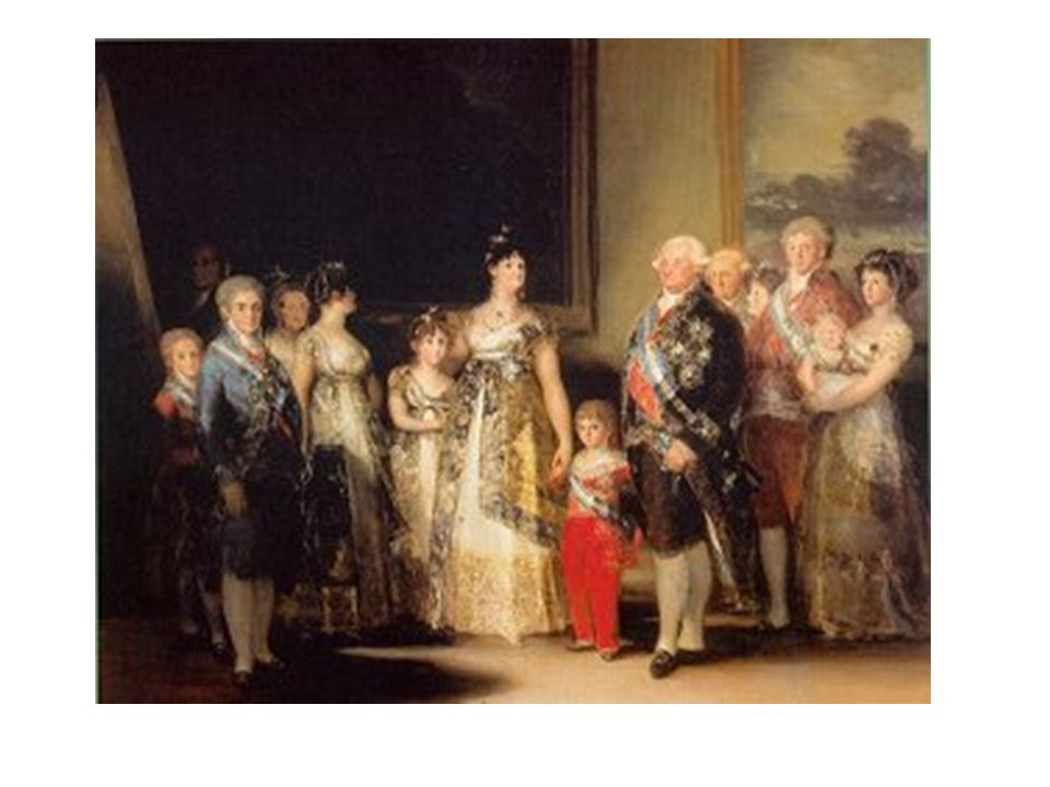 Francisco Goya, 1800: La famille royale