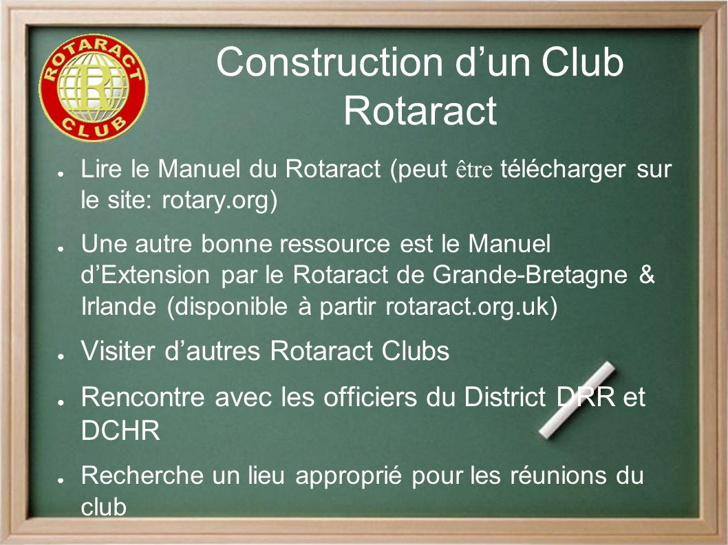 le programme rotaract introduction s ppt t l charger. Black Bedroom Furniture Sets. Home Design Ideas