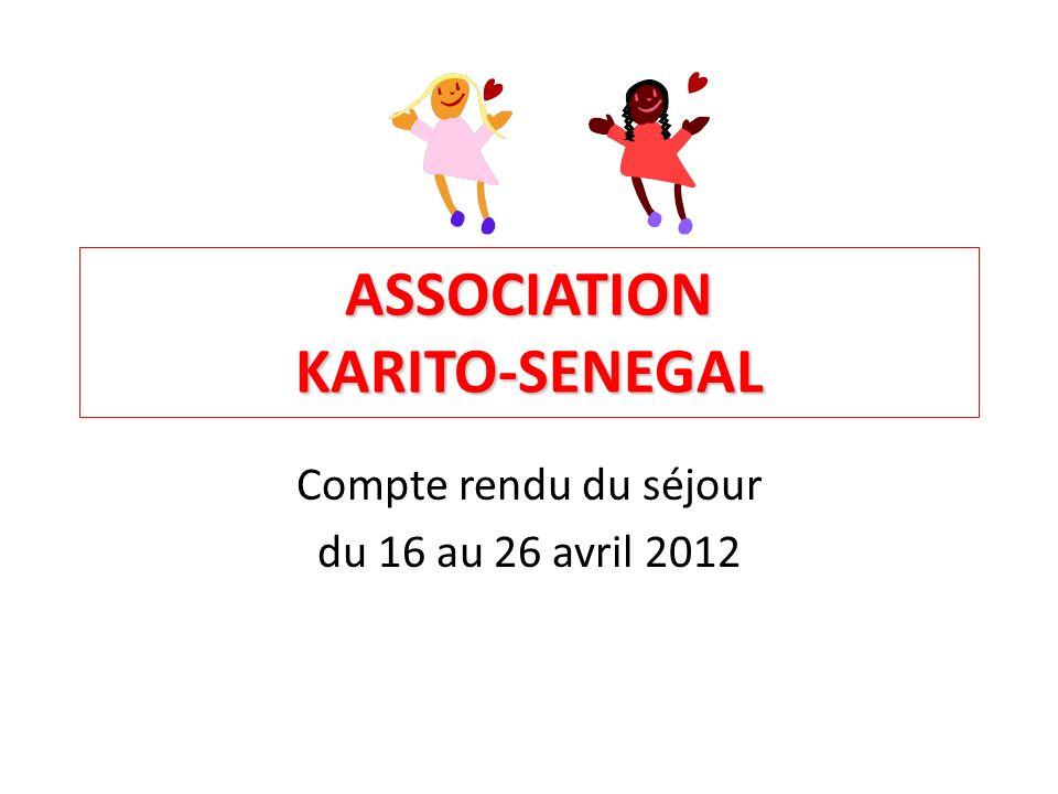 ASSOCIATION KARITO-SENEGAL