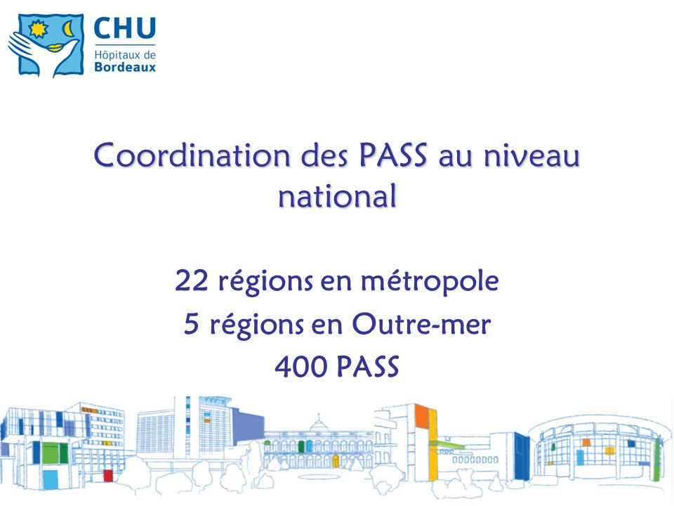 Coordination des PASS au niveau national