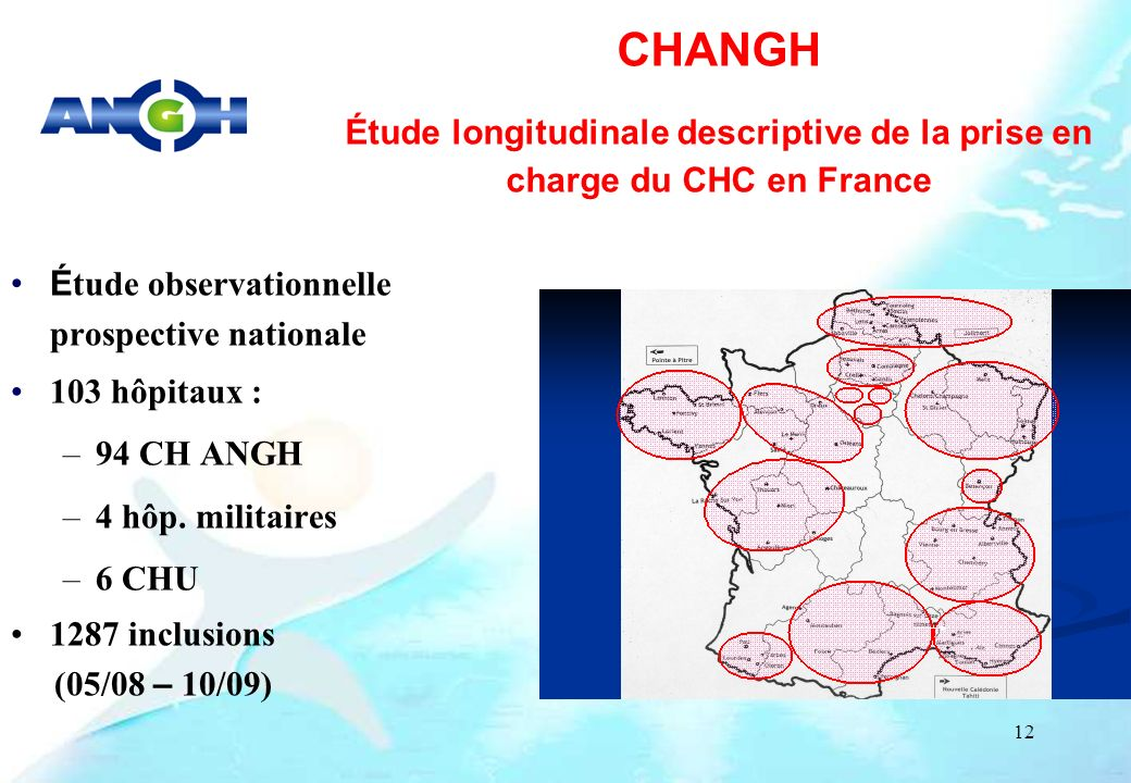 Étude longitudinale descriptive de la prise en charge du CHC en France