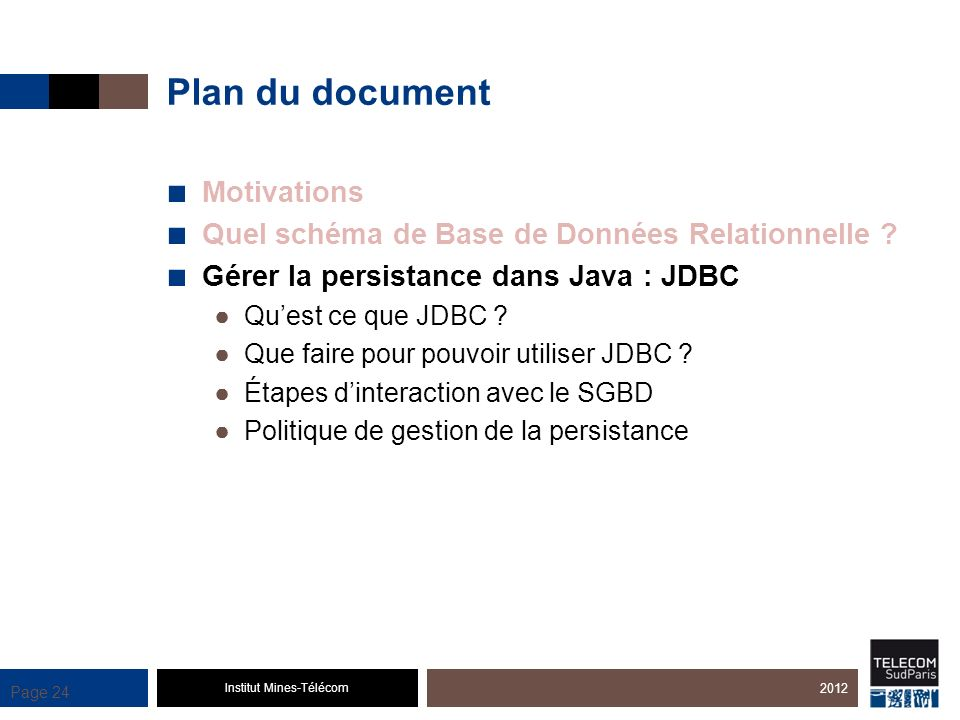 Plan du document Motivations