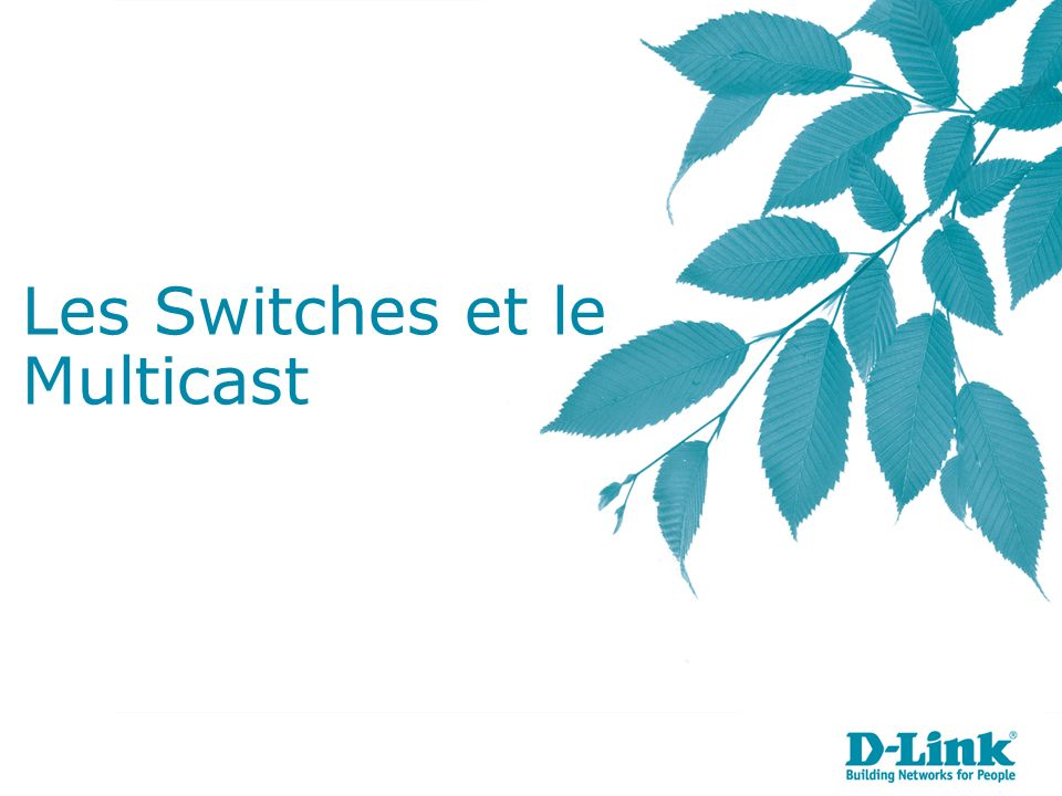 Les Switches et le Multicast
