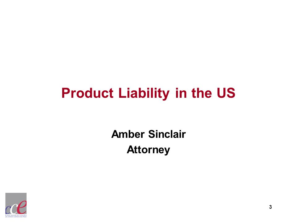 Product Liability in the US