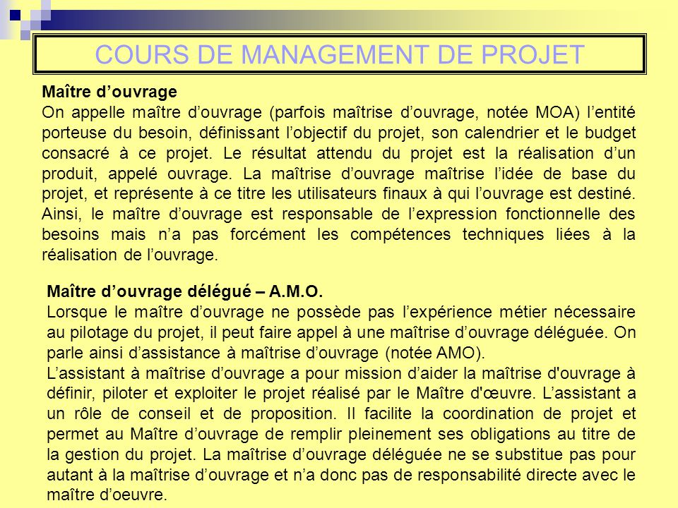 cours de management de projet insa strasbourg gc4 s ppt t l charger. Black Bedroom Furniture Sets. Home Design Ideas