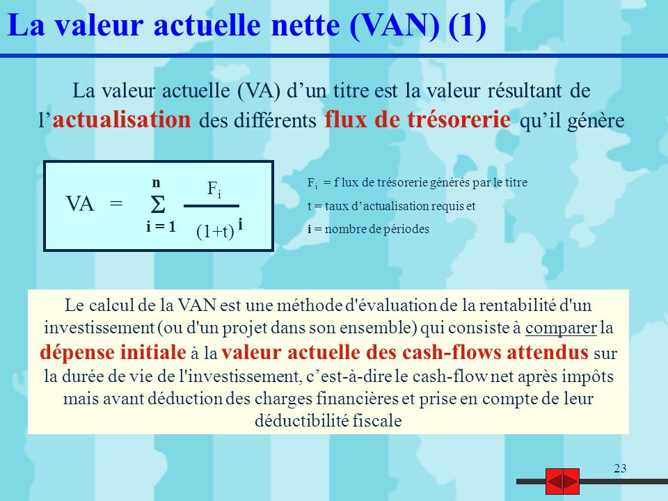 Strategie Financiere Pole Finance 3eme Annee Semestre 6 Seance N 4