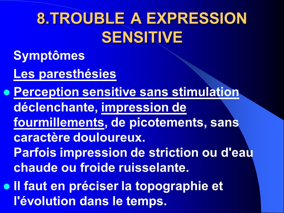 8.TROUBLE A EXPRESSION SENSITIVE