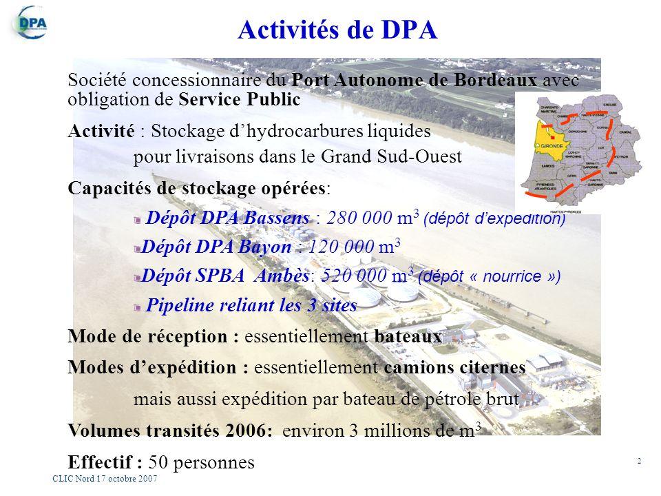 R union du comit local d information et de concertation - Port autonome du centre et de l ouest ...