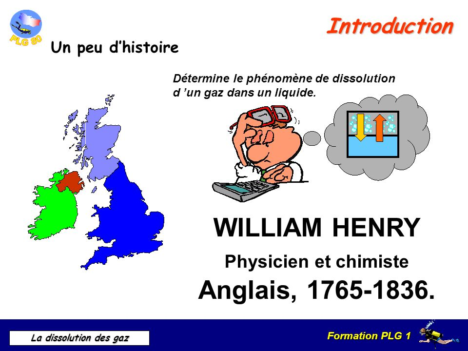 WILLIAM HENRY Physicien et chimiste Anglais,