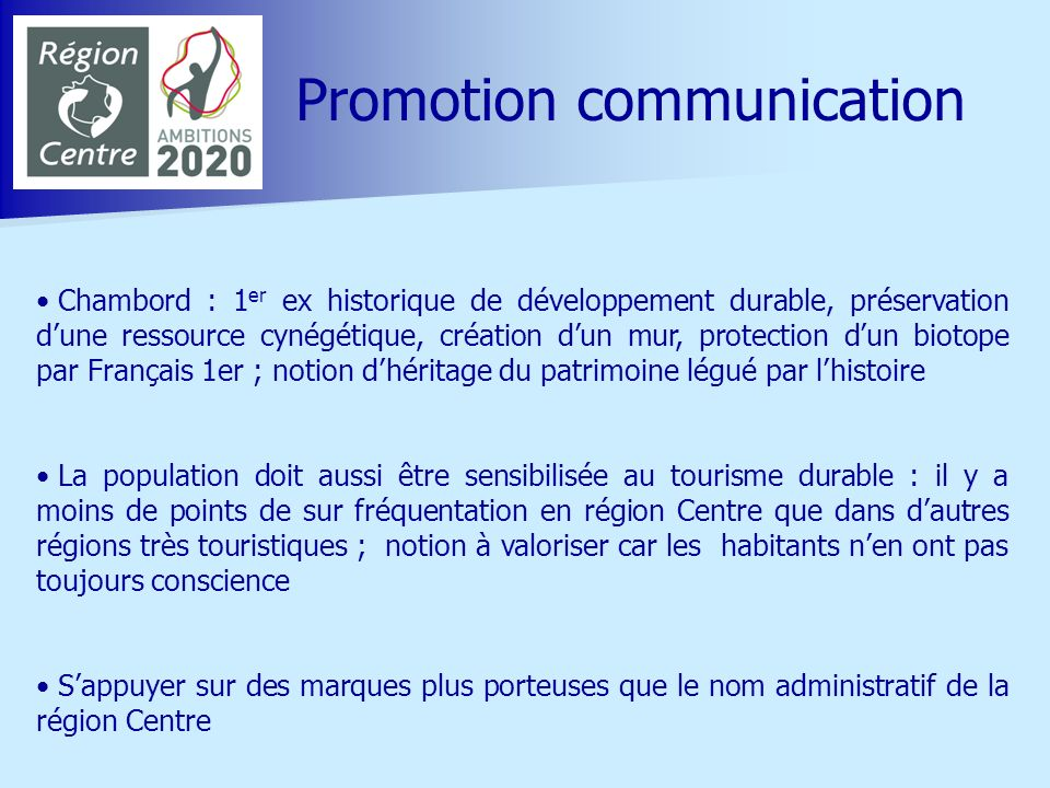 Promotion communication
