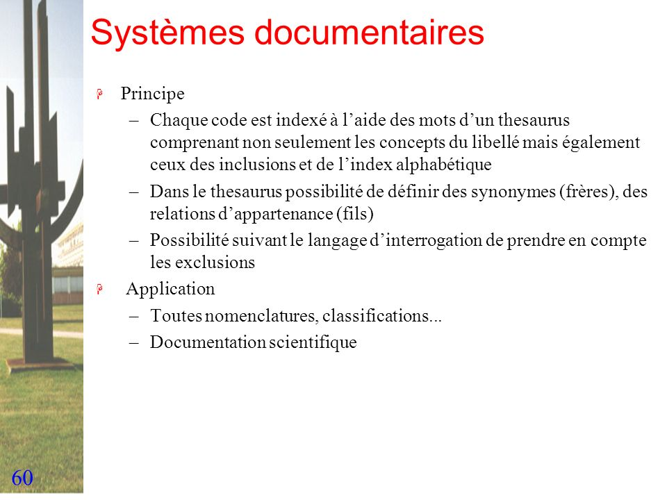 Systèmes documentaires