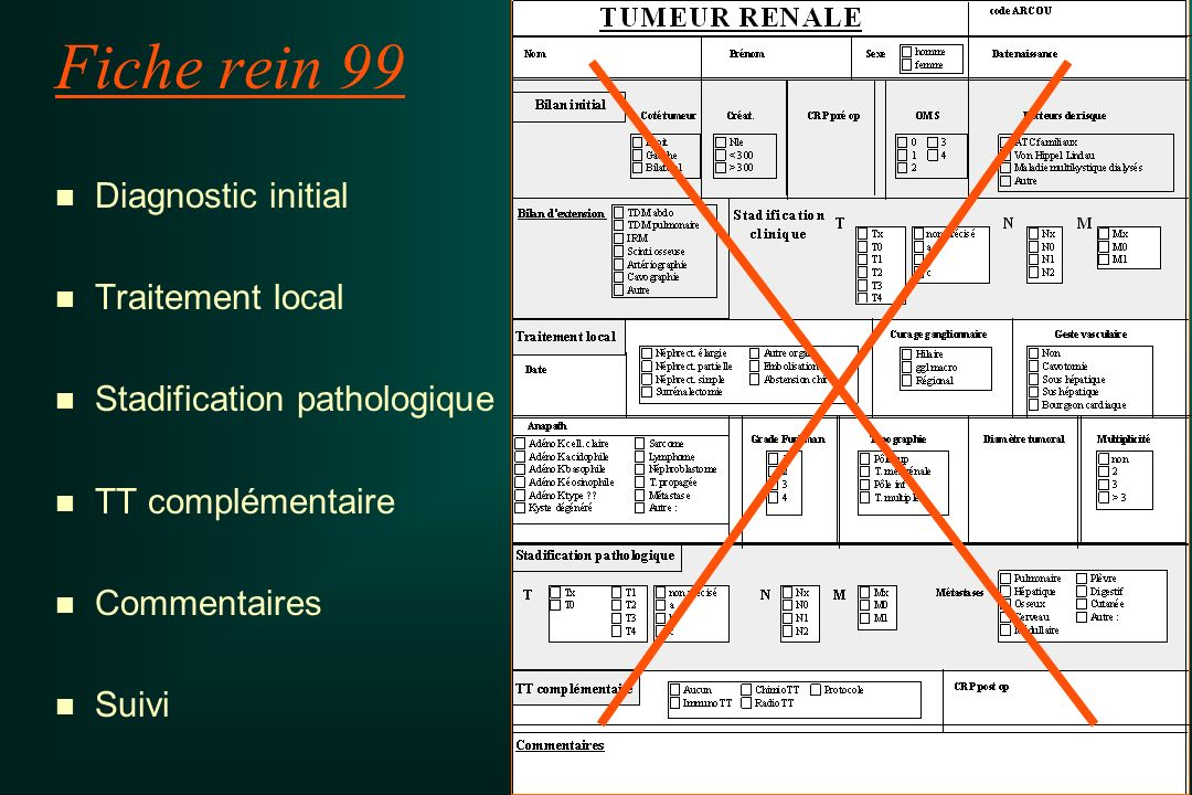 Fiche rein 99 Diagnostic initial Traitement local