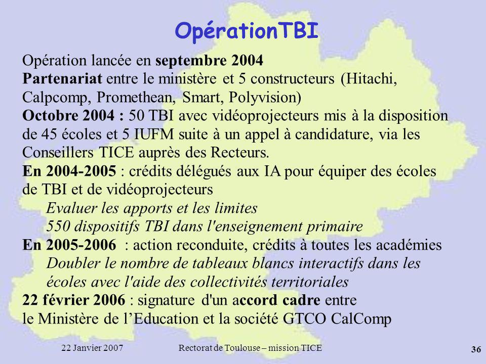 Rectorat de Toulouse – mission TICE