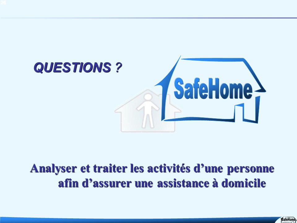QUESTIONS . SafeHome.