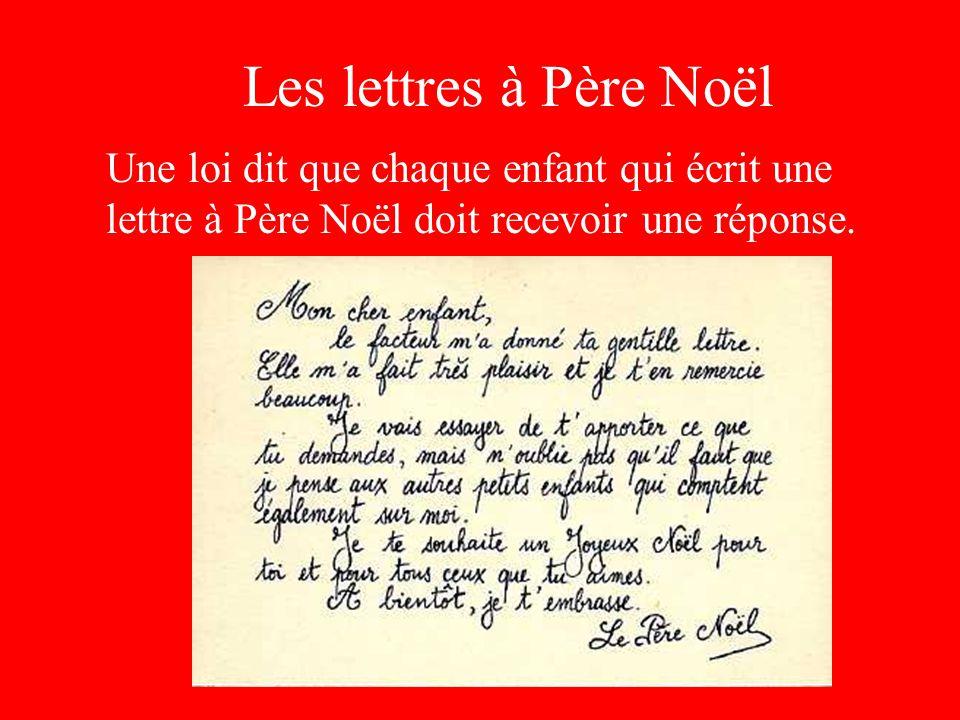 Lettre De Reponse Au Pere Noel.Reponse Lettre Pere Noel